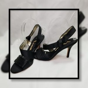Nina Satin Knotted Heel